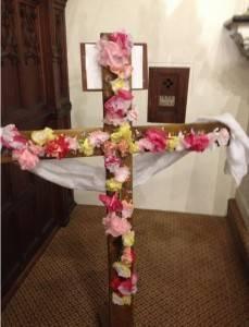 Cross on Easter Sunday