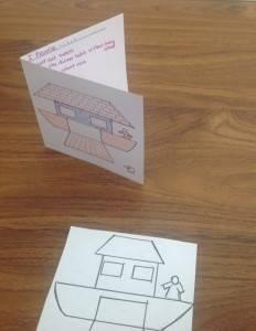 Noah's Ark Lenten Promise Card 1