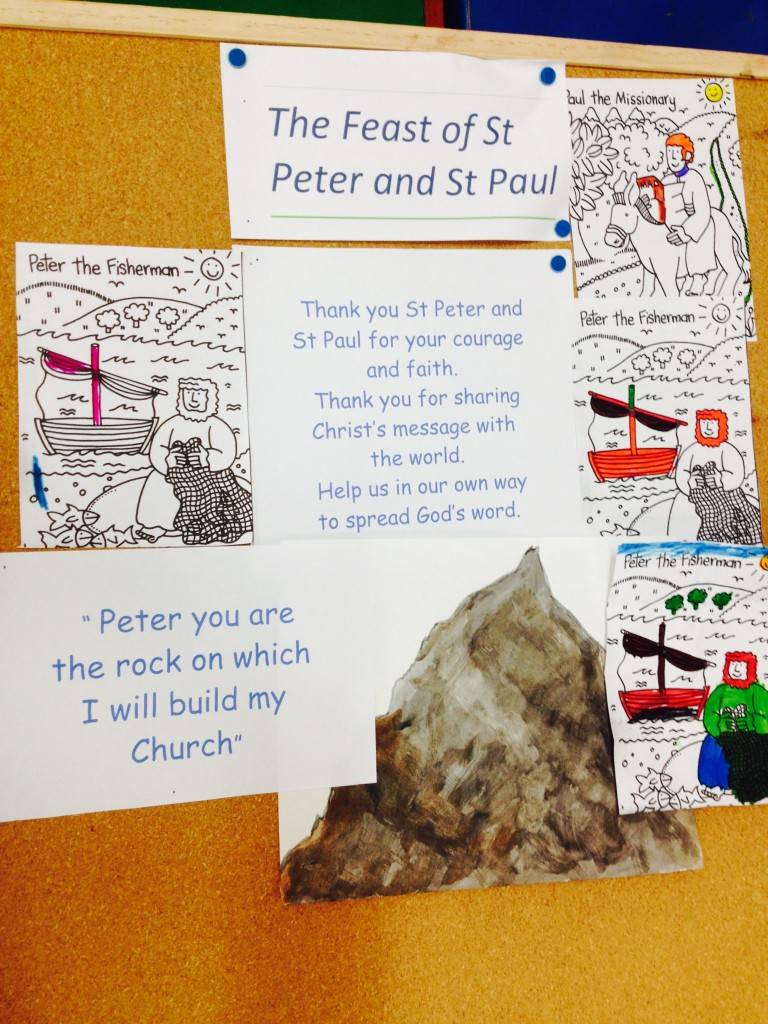 Saints Peter and Paul Activity