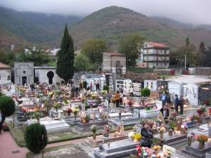 The cemetery in Arpaia