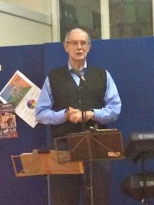 Peter Harvey sang 'Where the praties grow'.